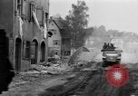 Image of armored columns Dinkelsbuhl Germany, 1945, second 10 stock footage video 65675068330
