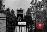 Image of chaplain Deggendorf Germany, 1945, second 9 stock footage video 65675068331