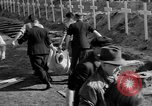 Image of Burial of Wöbbelin Concentration Camp victims Ludwigslust Germany, 1945, second 9 stock footage video 65675068332