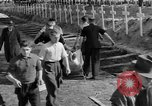 Image of Burial of Wöbbelin Concentration Camp victims Ludwigslust Germany, 1945, second 10 stock footage video 65675068332