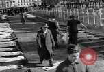Image of Burial of Wöbbelin Concentration Camp victims Ludwigslust Germany, 1945, second 12 stock footage video 65675068332