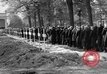 Image of Burial of Wöbbelin Concentration Camp victims Ludwigslust Germany, 1945, second 9 stock footage video 65675068333