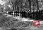 Image of Burial of Wöbbelin Concentration Camp victims Ludwigslust Germany, 1945, second 12 stock footage video 65675068333