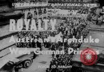Image of royal wedding Nancy France, 1951, second 3 stock footage video 65675068336