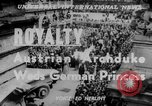 Image of royal wedding Nancy France, 1951, second 4 stock footage video 65675068336