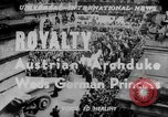 Image of royal wedding Nancy France, 1951, second 5 stock footage video 65675068336