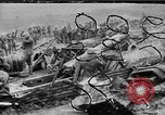 Image of British troops in trenches and battlefield scenes World War I Western Front European Theater, 1917, second 1 stock footage video 65675068359