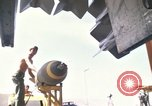 Image of crew of B-52D aircraft Thailand, 1970, second 2 stock footage video 65675068373