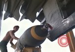 Image of crew of B-52D aircraft Thailand, 1970, second 3 stock footage video 65675068373