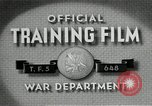 Image of flat net camouflage techniques World War 2 United States USA, 1942, second 4 stock footage video 65675068404