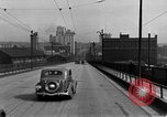 Image of 1940s automobiles on Market Street Bridge Youngstown Ohio USA, 1946, second 3 stock footage video 65675068413