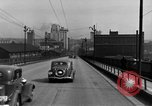 Image of 1940s automobiles on Market Street Bridge Youngstown Ohio USA, 1946, second 4 stock footage video 65675068413