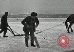 Image of Cutting ice blocks from a frozen lake United States USA, 1916, second 5 stock footage video 65675068419