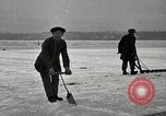 Image of Cutting ice blocks from a frozen lake United States USA, 1916, second 11 stock footage video 65675068419