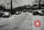 Image of winter storm United States USA, 1947, second 12 stock footage video 65675068439