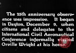 Image of Wright brothers United States USA, 1943, second 2 stock footage video 65675068451