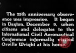 Image of Wright brothers United States USA, 1943, second 3 stock footage video 65675068451