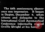 Image of Wright brothers United States USA, 1943, second 6 stock footage video 65675068451