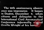 Image of Wright brothers United States USA, 1943, second 7 stock footage video 65675068451