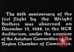 Image of Wright brothers United States USA, 1943, second 9 stock footage video 65675068452