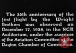 Image of Wright brothers United States USA, 1943, second 10 stock footage video 65675068452