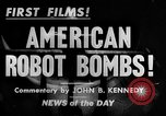 Image of Building and testing American robot Bomb Dearborn Michigan USA, 1944, second 2 stock footage video 65675068462