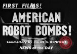 Image of Building and testing American robot Bomb Dearborn Michigan USA, 1944, second 4 stock footage video 65675068462