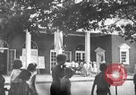 Image of Visitors at Edison Institute, Ford Museum, and Greenfield Village Dearborn Michigan USA, 1948, second 3 stock footage video 65675068468