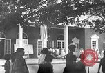 Image of Visitors at Edison Institute, Ford Museum, and Greenfield Village Dearborn Michigan USA, 1948, second 4 stock footage video 65675068468