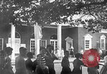 Image of Visitors at Edison Institute, Ford Museum, and Greenfield Village Dearborn Michigan USA, 1948, second 7 stock footage video 65675068468