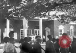Image of Visitors at Edison Institute, Ford Museum, and Greenfield Village Dearborn Michigan USA, 1948, second 9 stock footage video 65675068468