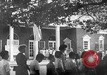 Image of Visitors at Edison Institute, Ford Museum, and Greenfield Village Dearborn Michigan USA, 1948, second 11 stock footage video 65675068468