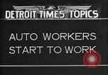 Image of Ford auto factory Dearborn Michigan USA, 1931, second 1 stock footage video 65675068470