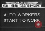 Image of Ford auto factory Dearborn Michigan USA, 1931, second 3 stock footage video 65675068470