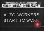 Image of Ford auto factory Dearborn Michigan USA, 1931, second 5 stock footage video 65675068470