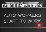 Image of Ford auto factory Dearborn Michigan USA, 1931, second 8 stock footage video 65675068470