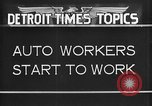 Image of Ford auto factory Dearborn Michigan USA, 1931, second 10 stock footage video 65675068470
