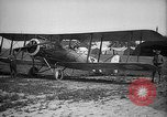 Image of French Salmson reconnaissance aircraft Viefvillers France, 1918, second 10 stock footage video 65675068479