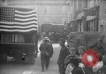 Image of U.S. 42nd Infantry Division funeral for fallen soldiers Baccarat France, 1918, second 12 stock footage video 65675068480