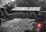 Image of Soldiers of 151st Field Artillery Regiment pitch quoits Neuf Maison France, 1918, second 11 stock footage video 65675068481