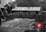 Image of Soldiers of 151st Field Artillery Regiment pitch quoits Neuf Maison France, 1918, second 12 stock footage video 65675068481