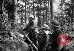 Image of 165th Infantry Regiment troops fire a mortar France, 1918, second 12 stock footage video 65675068484