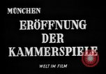 Image of Munich Kammerspiele Munich Germany, 1945, second 2 stock footage video 65675068491