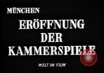 Image of Munich Kammerspiele Munich Germany, 1945, second 6 stock footage video 65675068491