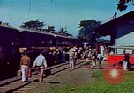 Image of railroad station Guatemala, 1946, second 10 stock footage video 65675068496