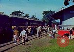 Image of railroad station Guatemala, 1946, second 11 stock footage video 65675068496
