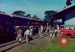Image of railroad station Guatemala, 1946, second 12 stock footage video 65675068496