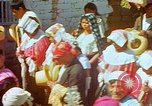 Image of masked mummers Guatemala, 1946, second 2 stock footage video 65675068497