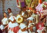 Image of masked mummers Guatemala, 1946, second 3 stock footage video 65675068497