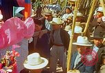 Image of masked mummers Guatemala, 1946, second 8 stock footage video 65675068497